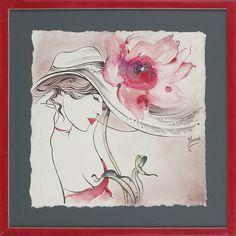 With Flower in Hat by Anna Ewa Miarczynska 2010