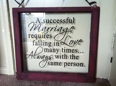 Wedding day quote - A successful marriage required falling in love many times...always with the same person.