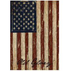 Striped Vintage Patriotic Flag Garden House Retro USA American Banner Home Shop Bar Ornament Souvenir Gift Craftwork 45X31.7CM