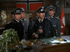 HOGAN'S HEROES The Scientist Hotel Scene~One of my all-time favorite Hogan's Heroes scenes! (Isn't Newkirk adorable? LOL!) Sorry that the audio lags a little behind the video. Pay special attention to 2:59, and watch Newkirk try to flick the banana off the counter! I wish I knew why Richard Dawson did that! ROTFL!