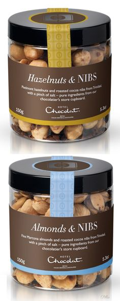 Hotel Chocolat-(Cocoa Cuisine Collection).Hazelnuts & NIBS, Almonds & NIBS PD