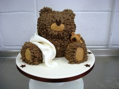 teddy bear cake | Brown Bear