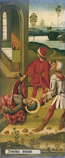 The Martyrdom of Saint Mark, 1478, Gabriel Mälesskircher