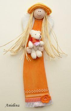 Куколки из соленого теста от Anielina