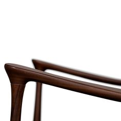 Hudson Armchair | Essential Home | Mid Century Furniture Mid Century House, Mid Century Furniture, Mid Century Design, Walnut Wood, Polished Brass, Contemporary Furniture, Home Furnishings, Armchair, Furniture Design