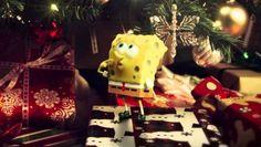 Spongebob - Fuori dall'acqua: video natalizio del film d'animazione