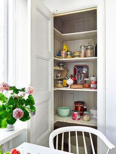 small but capacious pantry