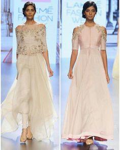 Indian Models Walks the Ramp for Designer #AnushreeReddy at Lakme Fashion Week 2016.