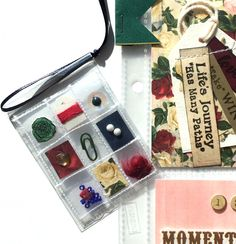 Miniature Pocket Letter by Jackie Benedict