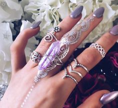 Bohomoon ring selection WOMEN'S ACCESSORIES http://amzn.to/2kZf4gO