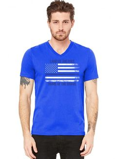 Teeshirt fines rayures logo VINTAGE LOGO SPARKLE Bleu marine 8