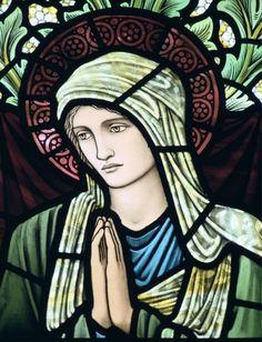 Edward Burne-Jones -Virgin Mary, St Mary's Church,