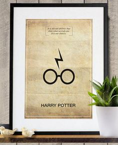 Harry Potter Memorable Quote Vintage 11X17 by Posterinspired