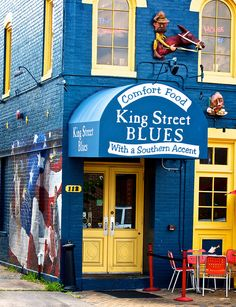 King Street Blues, Alexandria, VA by Frozen Canuck, via Flickr
