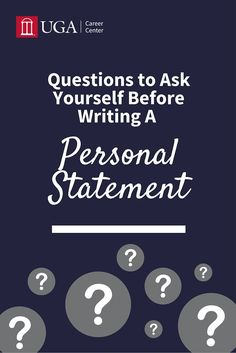 Ask yourself these questions BEFORE writing your personal statement! Questions To Ask, This Or That Questions, Professional School, Masters Programs, Med School, Graduate School, Dream Job, Personal Statements, Career