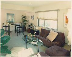 Roppongi residential design 1990 Living room, young hip stock trader #MarkCleveland #Architecture #Design #Product #Graphic #UCBerkeley #Osaka #Tokyo #Art #Creative #Interior #Advertising #BIAN #Granite #Bar #Philippine #Wicker #ThaiSilk #Contemporary #KidderPeabody