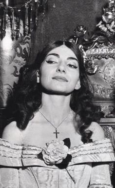 Maria Callas, a singer of more than a thousand faces, but this is one expression…
