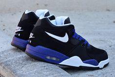 #Nike Air Flight 89 Black/Blue #sneakers