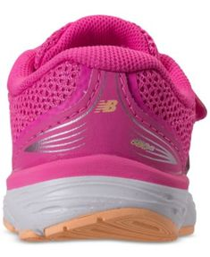 1d46615f219a New Balance Toddler Girls  680v5 Wide Width Running Sneakers from Finish  Line - Pink 10