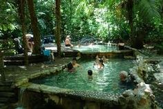 Termales del Bosque Forest Hotsprings in San Carlos Costa Rica