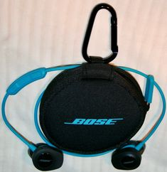 BOSE SOUND SPORT BLUE/AQUA These are great headphones! Bose is very known for there noise cancelling features, which are great, in my opinion. These Quiet comfort ear buds fit very nicely in the ears. The sound that comes out is amazing! Wireless Earbuds, Headphones, Charging Cable, Noise Cancelling, Bose, Aqua, Headset, Ear Phones
