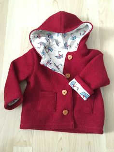 Sewing pattern # 6 Wooly Star by Ottobre Design as paper cut for babies, boys, girls in the jacket category . Sewing pattern Sewing pattern # 6 Wooly Star by Ottobre Design Marina Martel Nähen Sewing pat Winter Girl, Baby Winter, Fashion Kids, Baby Outfits, Kids Outfits, Designer Baby Clothes, Baby Kind, Baby Baby, Sewing For Kids