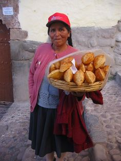 Street vendor, Peru by lup keen ng.