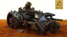 Steampunk Steam Engines | Steampunk Mortar Siege Engine by Kurczak