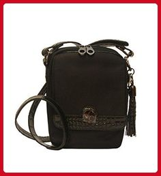 Concealed Carrie Concealed Carry Black Crocodile Crossbody Purse - Crossbody bags (*Amazon Partner-Link)