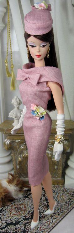 Dusty Pink Silkstone for Barbie.