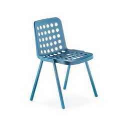 Modern injected polypropylene multi-purpose 'Koi' chair by Pedrali at My Italian Living Ltd