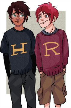 Harry and Ron by sibandit