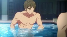 : Dive to the Future - In the new series, Haruka, who is attending college in Tokyo, meets Asahi again and reawakens his memories from his middle school years, including those of Ikuya. Makoto is working toward a new dream while he is in Makoto Tachibana, Makoharu, Hot Anime Boy, Anime Guys, Free Makoto, Splash Free, Free Eternal Summer, Free Iwatobi Swim Club, Free Anime