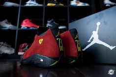 Air Jordan 14 Retro Ferrari #jordancollection #nike #sneakerhead