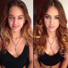 hairstylesbeauty:  26 GREAT Makeup Before And Afters: Very talented.. See them all! | #makeup