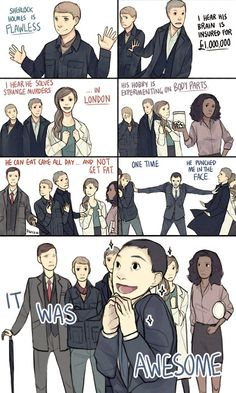 """""""the Awesomeness of Sherlock Holmes as told by mean girls"""" [Mean Girls touches everything]"""