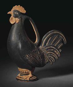 A FALISCAN BLACK-GLAZED ASKOS   CIRCA 4TH CENTURY B.C.   Ancient Art & Antiquities Auction   Ancient Art & Antiquities, vases   Christie's