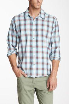 Long Sleeve Oakes Shadow Plaid Shirt