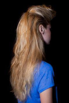 New York Fashion Week S/S 2013 Ruffian. Hair by Bb. Stylist Neil Moodie #fashionweek #hair #bumble #fashion
