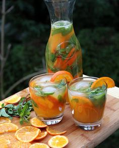 Receta para mojito de mandarina
