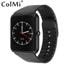 $17.85 (Buy here-> http://ali.pub/16617t) ColMi Smart Watch GT08 Clock With Sim Card Slot Push Message Bluetooth Connectivity Android Phone Smartwatch GT08 #SmartWatch