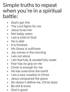 Looking for for inspiration for bible quotes?Check this out for very best bible quotes inspiration. These positive sayings will make you positive. Prayer Scriptures, Prayer Quotes, Bible Verses Quotes, Spiritual Quotes, Faith Quotes, Spiritual Encouragement, Scriptures On Fear, Spiritual Warfare Scripture, Bible Verses About Fear
