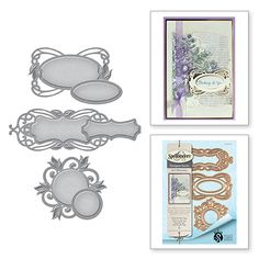 S4-670 Shapeabilities Style Nouille Tags Stacey Caron Etched Dies