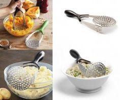 Uno de los utensilios de cocina básicos es el prensa patatas, hay muchos modelos y diseños de este accesorio, hoy os presentamos el que ha diseñado prepara, que además de ser ergonómico es plegable.