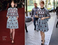 Emma Stone In Erdem 'The Amazing Spider-Man 2 Rise Of Electro' Berlin Photocall