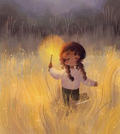 You light up my life art pictures, children's book illustration, landscape Art And Illustration, Animal Illustrations, Illustrations Posters, Mode Poster, Cute Cartoon Wallpapers, Whimsical Art, Anime Art Girl, Cute Drawings, Cute Art