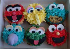 Seasame Street Cupcakes!