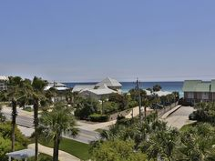 The view from Casa Del Sol, a 4 bedroom vacation home located just off 30A in Seacrest Beach!