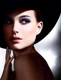Natalie Portman, Dior eyeshadow