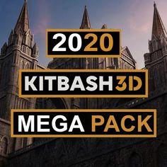 Kitbash3d Mega Pack 2020